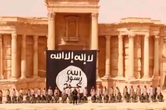 Des syriens exécutés par l'Etat Islamique à Palmyre