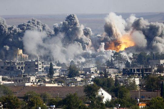 Les Américains viennent en aide aux Kurdes de Kobané