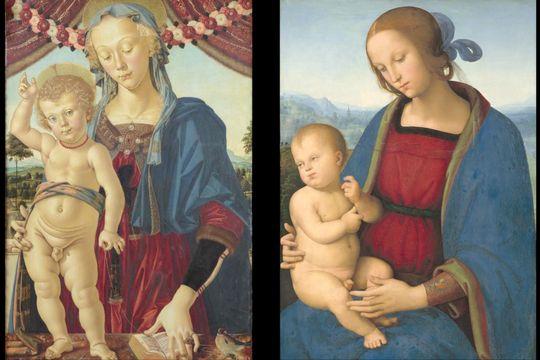Du Pérugin à Raphaël. L'exemple des Vierges à l'enfant.