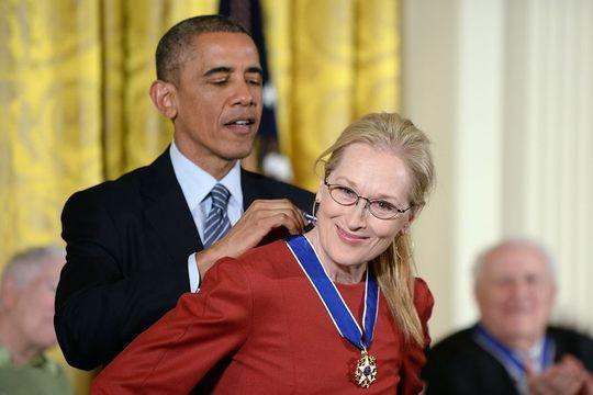 Une décoration et une déclaration pour Meryl Streep