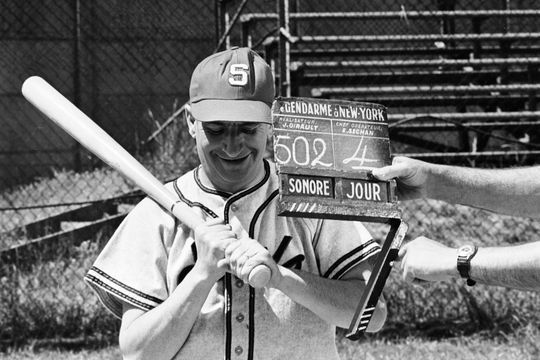 Louis de Funès, star du baseball