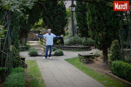 Christophe Lambert, un écrivain en son jardin