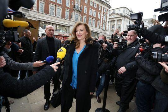 Londres s'emballe pour Valérie Trierweiler