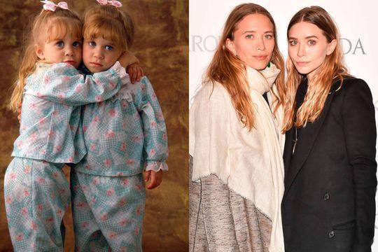 L'évolution physique des jumelles Olsen