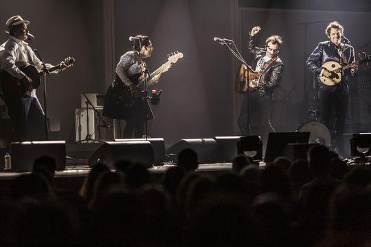 Hier soir à Paris… Les Chedid