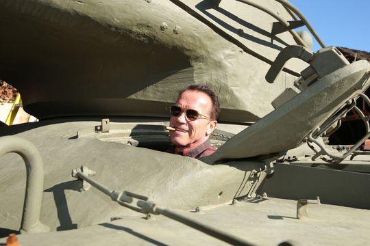 Arnold Schwarzenegger, le tank vert