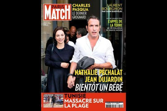 Nathalie Péchalat et Jean Dujardin, bientôt un bébé