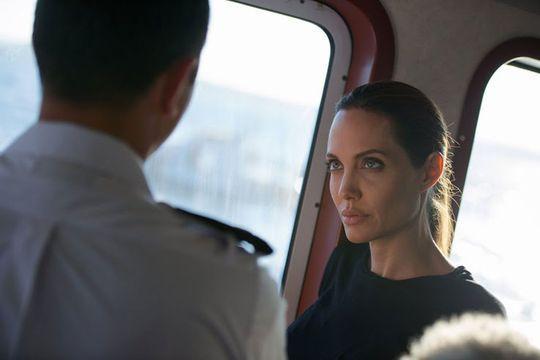 Angelina Jolie. Une bouteille à la mer