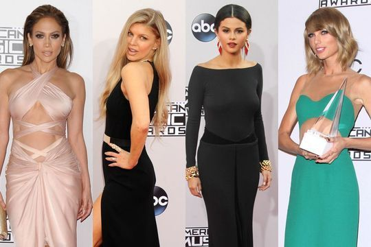 Les stars enflamment les American Music Awards