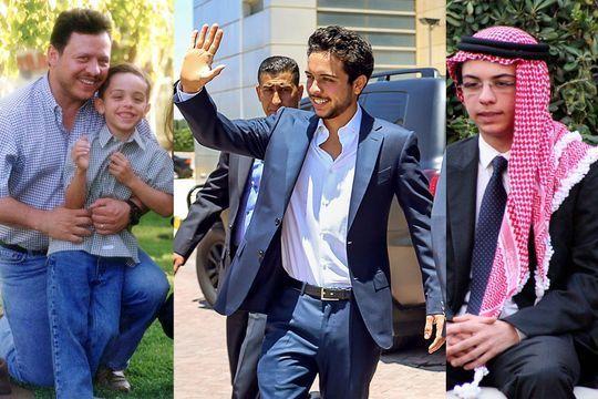 Le prince Hussein de Jordanie a 21 ans