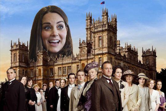 Kate va visiter Downton Abbey