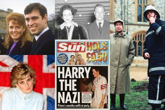 Cinq scandales qui ont fait trembler la couronne