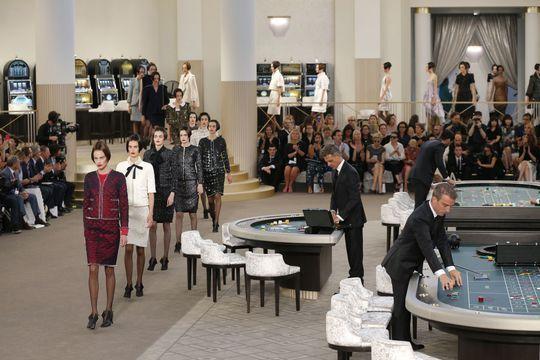 Le casino royal de Karl Lagerfeld pour Chanel