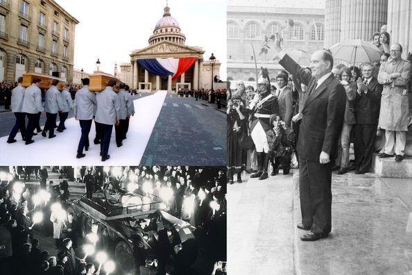 Au Panthéon, les Présidents face à l'Histoire