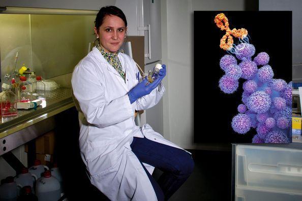 Elle a trouvé la molécule tueuse de cancer