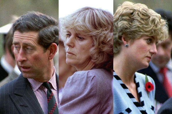 Charles, Camilla et Diana… remue-ménage à trois