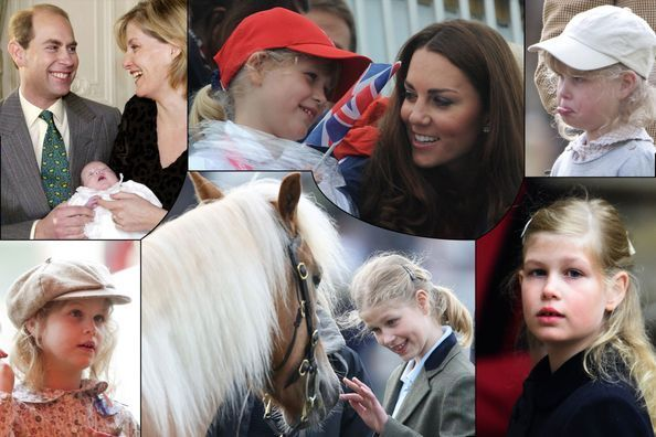 Lady Louise Windsor, une vie en photos