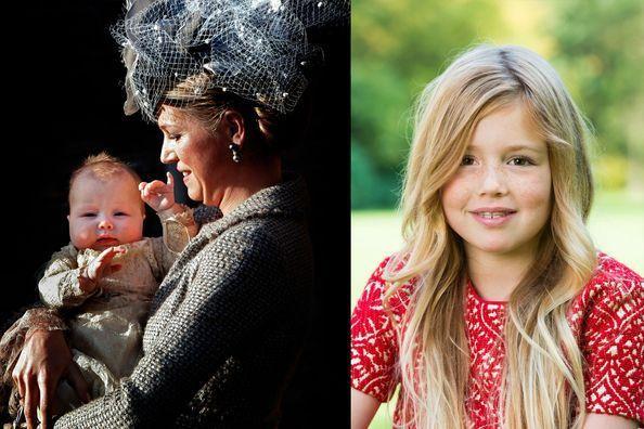La princesse Alexia des Pays-Bas a 10 ans
