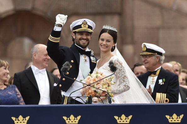 Les plus belles photos du mariage de Carl Philip et Sofia