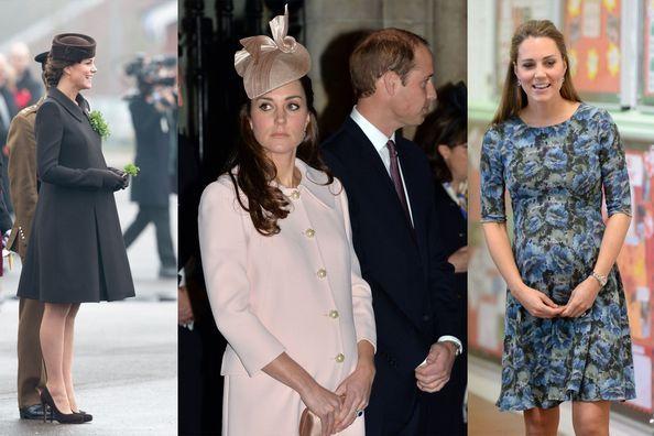 Kate, une grossesse aux looks classiques et chics