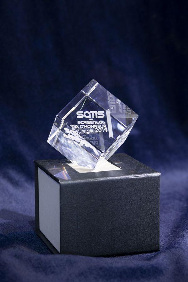 Le trophée honorifique du SATIS 2019