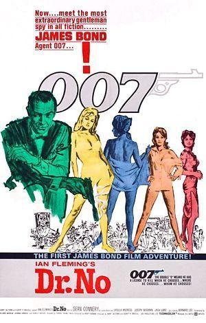 affiche Bond dr no-