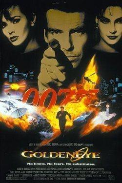 affiche Bond GoldenEye-