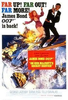 affiche Bond OHMSS-
