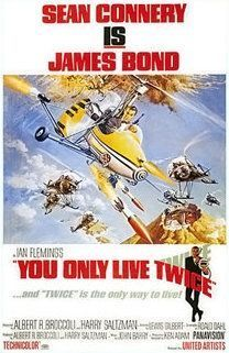 affiche Bond Only_Live_Twice-