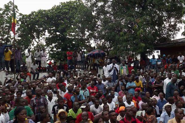 Meeting du 27 septembre 2015 au Boulevard, Brazzaville