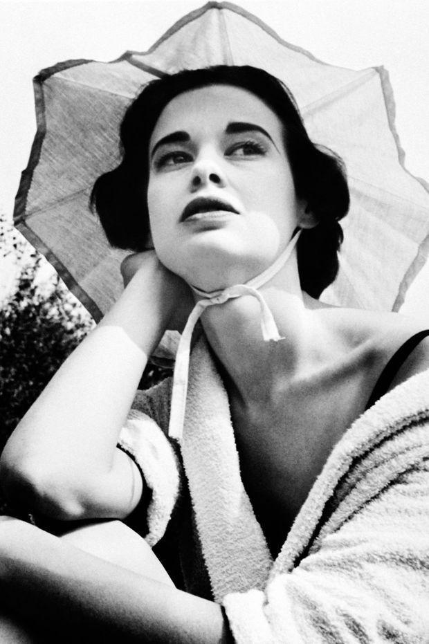 Gloria Vanderbilt en 1955.