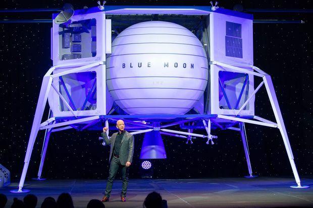 L'alunisseur de Jeff Bezos.