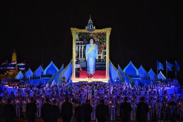 Cérémonie pour les 87 ans de la reine Sirikit de Thaïlande à Bangkok, 12 août 2019