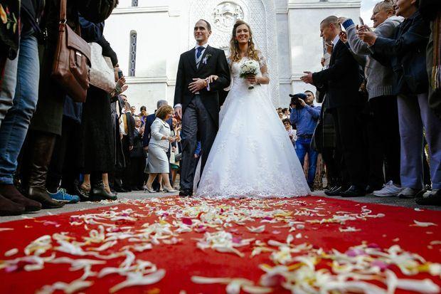 Le prince de Serbie Mihajlo Karadjordjevic et sa femme Ljubica Ljubisavljebvic, le 23 octobre 2016