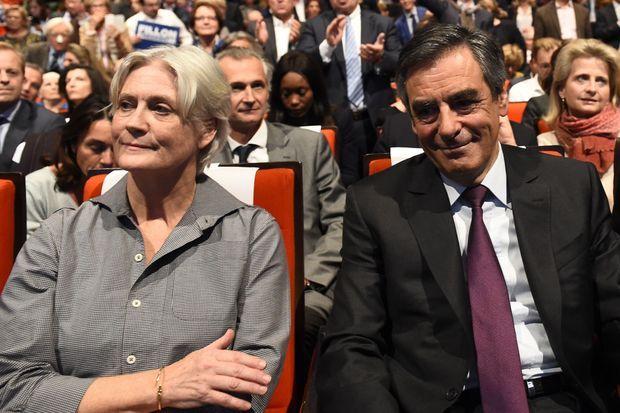 Penelope Fillon aux côtés de François Fillon le 18 novembre dernier.