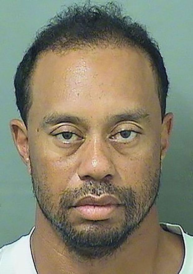 Tiger Woods au poste de police de Palm Beach