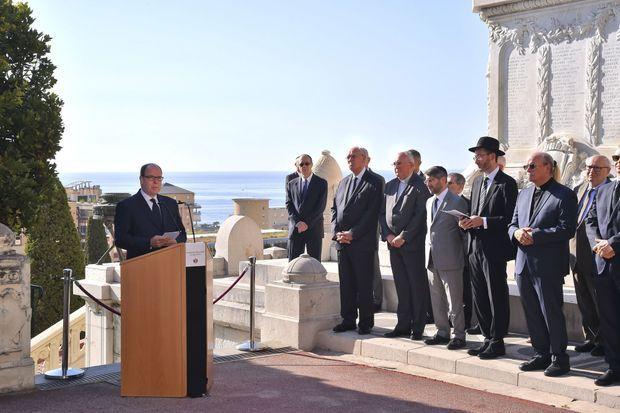Albert II de Monaco a prononcé un discours émouvant