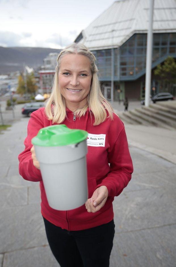 La princesse Mette-Marit de Norvège à Tromso, le 27 septembre 2016