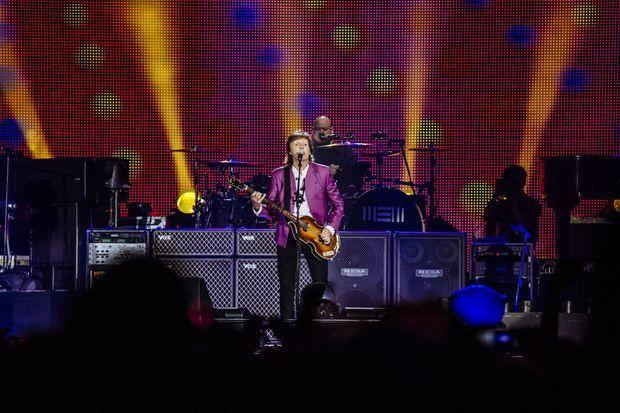 Paul McCartney à Marseille.