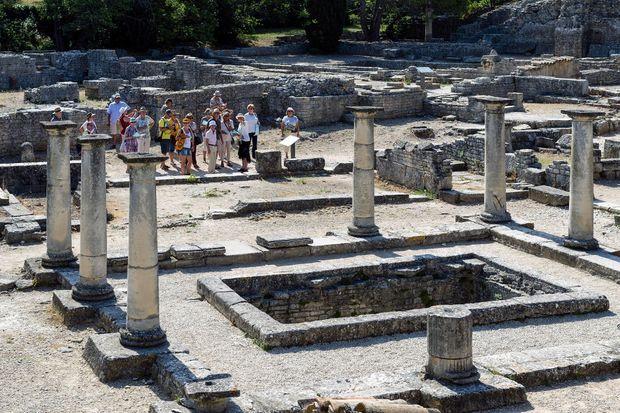 Les ruines gallo-romaines de Saint-Rémy-de-Provence, France