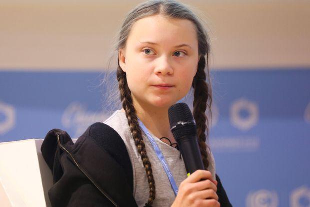 Greta à la COP24.