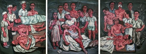 Hospital Triptych No.2, 1992
