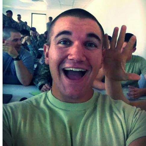Une photo personnelle d'Alek Skarlatos.