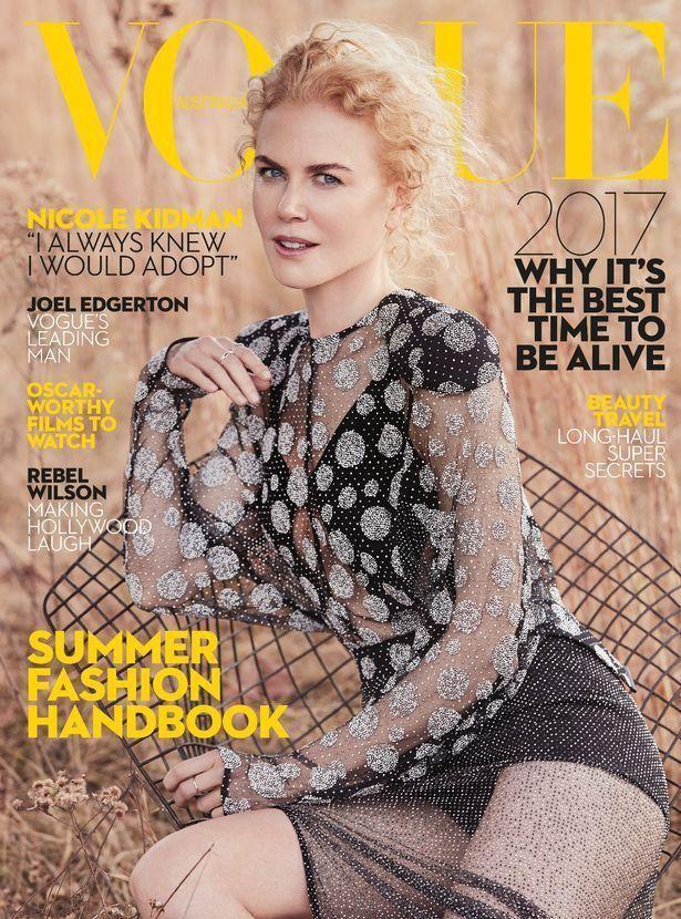"""Une de """"Vogue Australie"""" pour le mois de janvier 2017."""