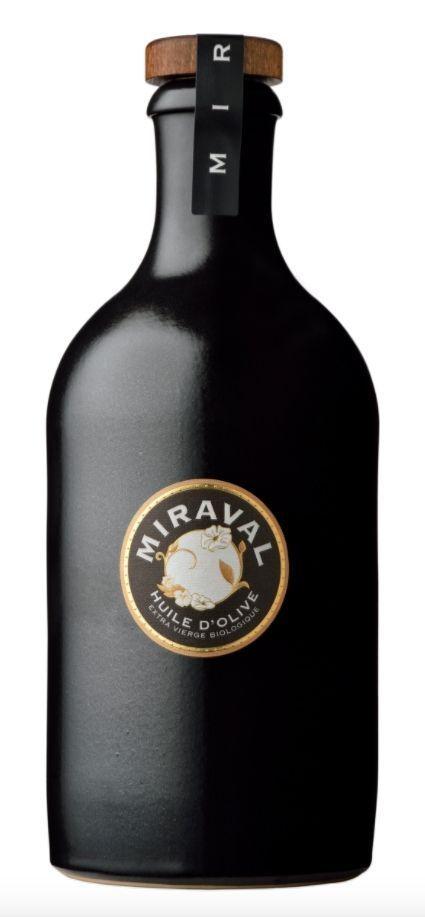 L'huile d'olive de Miraval.
