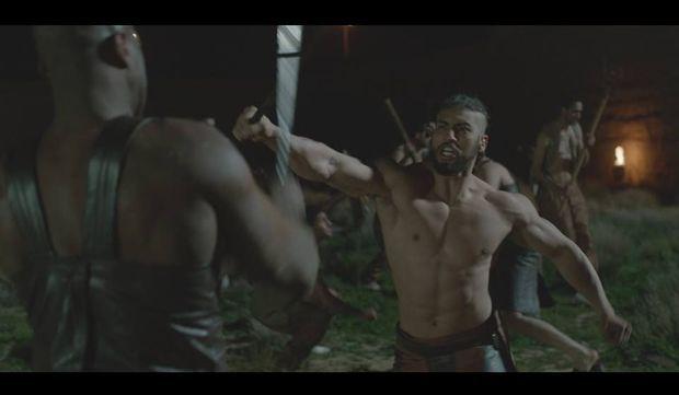 Les scènes de combat n'ont pas grand chose à envier au cinéma US.