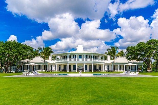 Le manoir de Céline Dion à Jupiter Island (Floride)