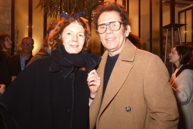 Penelope Blanckaert et Gerald Cohen.