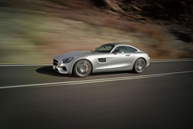 La Mercedes AMG GT sera à découvrir porte de Versailles.
