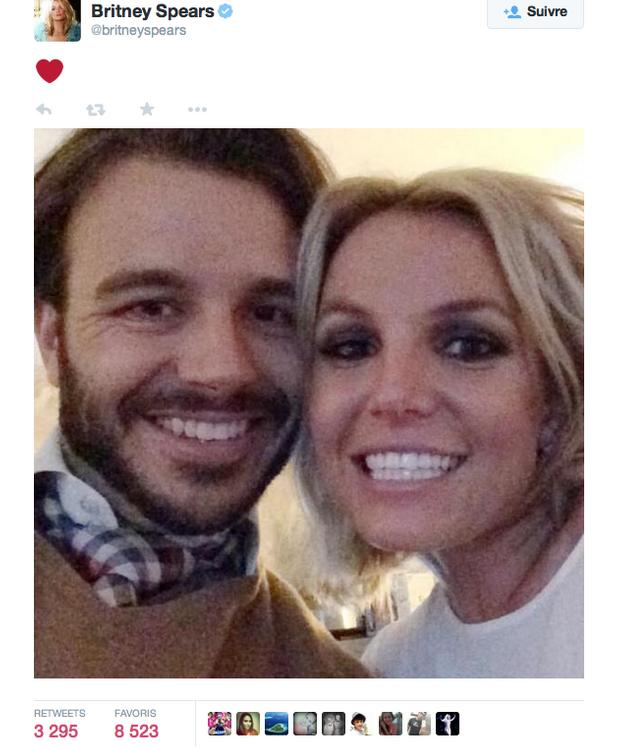 Premier selfie de Britney et Charlie.